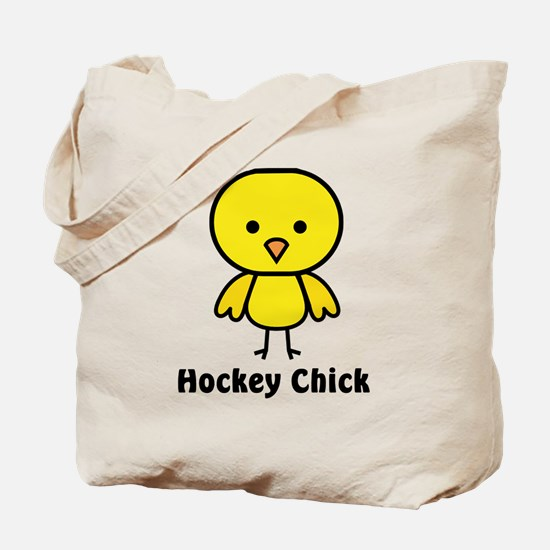 hockey chick Tote Bag