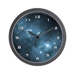 Fantasy Star Dust Wall Clock