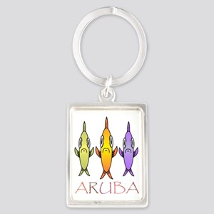 Aruba Portrait Keychain