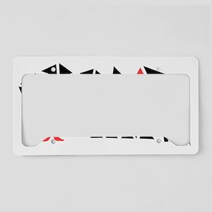 hatch-black License Plate Holder