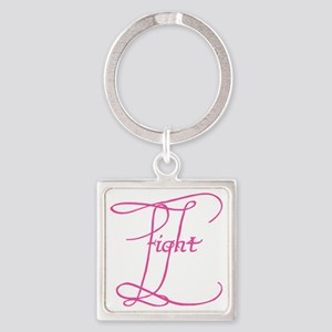 FIGHTBIG Square Keychain