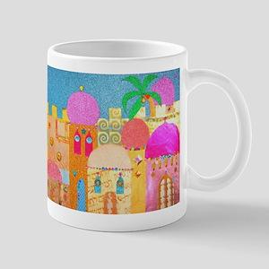 Jerusalem City of Gold Mugs