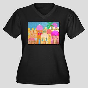 Jerusalem City of Gold Plus Size T-Shirt