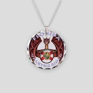 FLORIDA Necklace Circle Charm