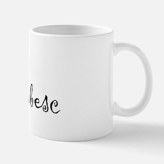 """I Love You"" [Romanian] Mug"