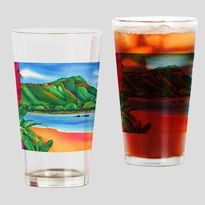 DiamondHeadCalandar Drinking Glass