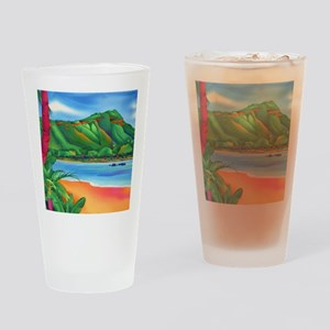 DiamondHeadMousePad Drinking Glass