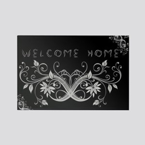 WELCOME HOME Rectangle Magnet