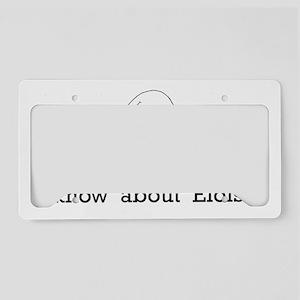 eloise 001 License Plate Holder