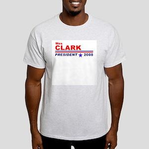 Wes Clark Ash Grey T-Shirt