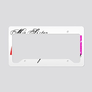 sis License Plate Holder