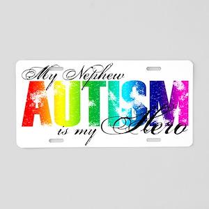 nephew Aluminum License Plate