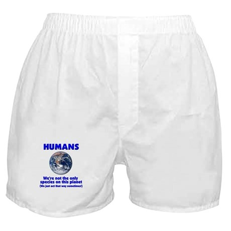 Not the only species Boxer Shorts