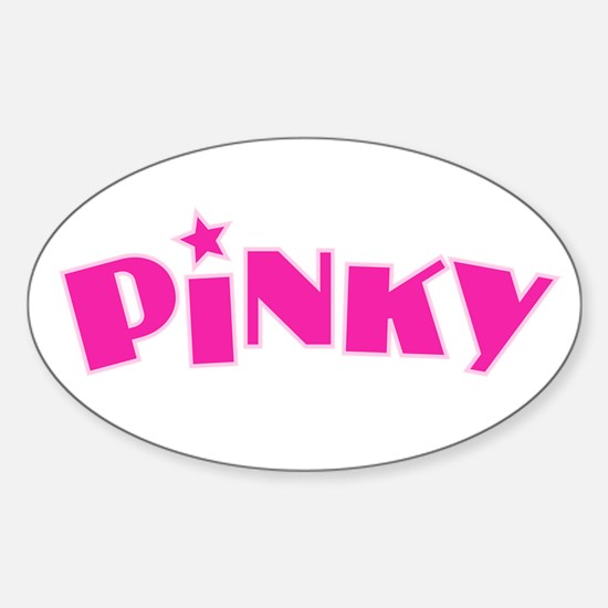 Pinky Decal