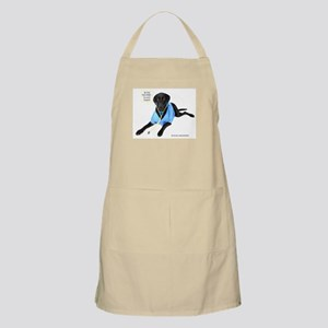 Black Lab Doctor BBQ Apron