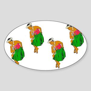 2-Kaina Multiple 1 Sticker (Oval)