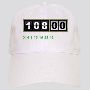 Lost-108-minutes-and-numbers-(dark) Cap
