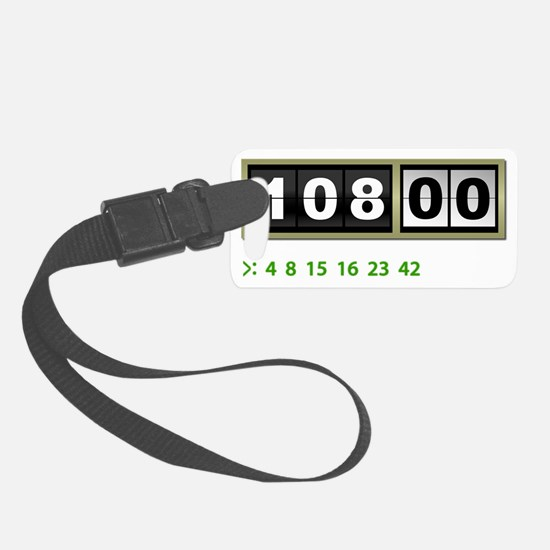 Lost-108-minutes-and-numbers-(wh Luggage Tag