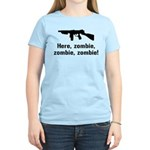 Here Zombie Zombie Zombie Gun Women's Light T-Shir