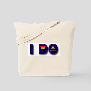 Gay Marriage I Do Tote Bag