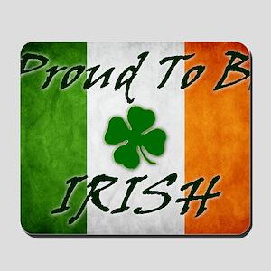 irish_flag_banner_2w Mousepad