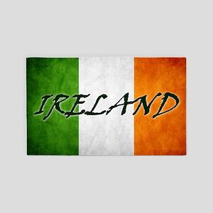 irish_flag_banner_4w 3'x5' Area Rug