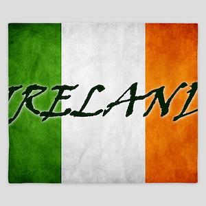 irish_flag_banner_4w King Duvet