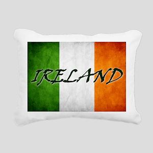 irish_flag_banner_4w Rectangular Canvas Pillow