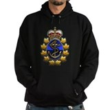 Canadian navy Dark Hoodies
