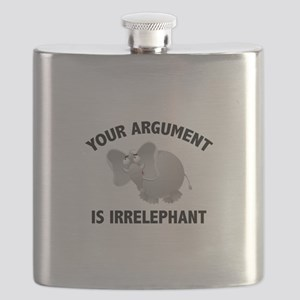 Your Argument Is Irrelephant Flask
