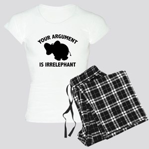 Your Argument Is Irrelephant Women's Light Pajamas