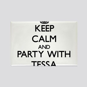 Keep Calm and Party with Tessa Magnets