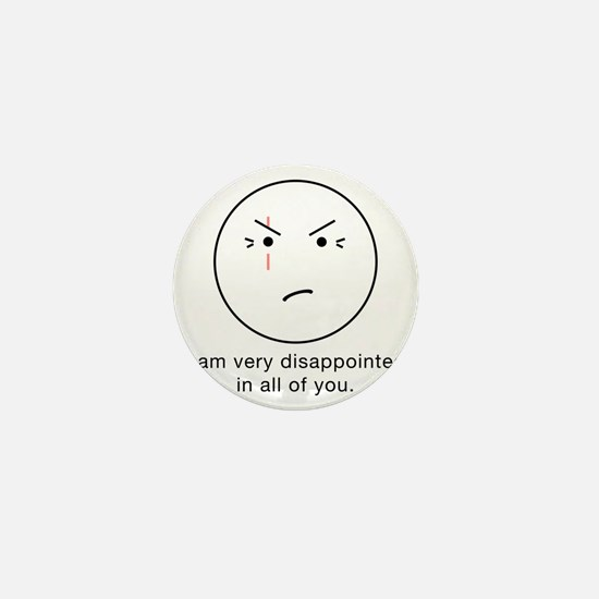 LOST Disappointed - Light, trans Mini Button
