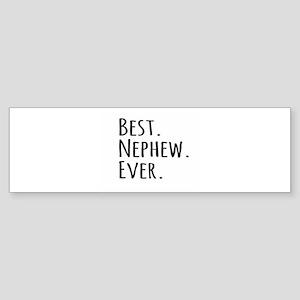 Best Nephew Ever Bumper Sticker