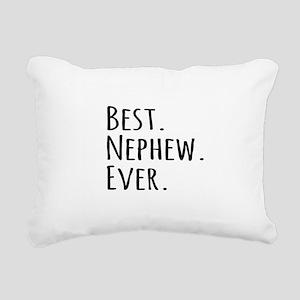 Best Nephew Ever Rectangular Canvas Pillow