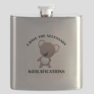 I Have The Necessary Koalafications Flask