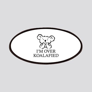 I'm Over Koalafied Patches
