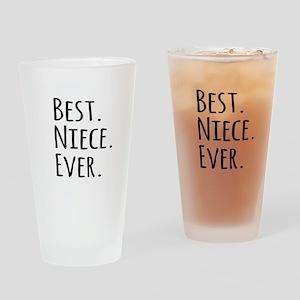 Best Niece Ever Drinking Glass
