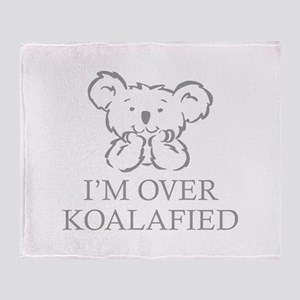I'm Over Koalafied Stadium Blanket