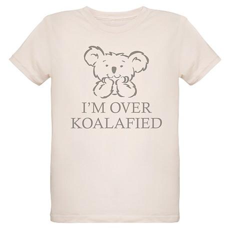 I'm Over Koalafied Organic Kids T-Shirt