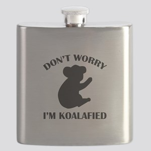 Don't Worry I'm Koalafied Flask