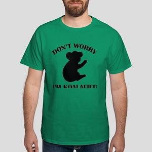 Don't Worry I'm Koalafied Dark T-Shirt