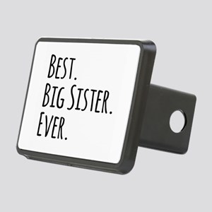 Best Big Sister Ever Rectangular Hitch Cover