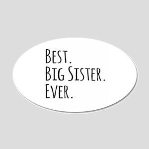 Best Big Sister Ever Wall Sticker