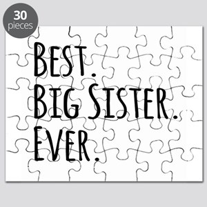 Best Big Sister Ever Puzzle