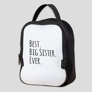 Best Big Sister Ever Neoprene Lunch Bag