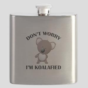 Don't Worry I'm Koalafied Flask