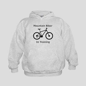 Mountain Biker in training Hoodie