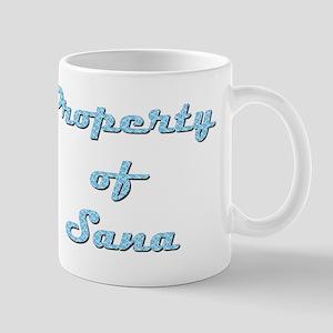 Property Of Sana Female 11 oz Ceramic Mug