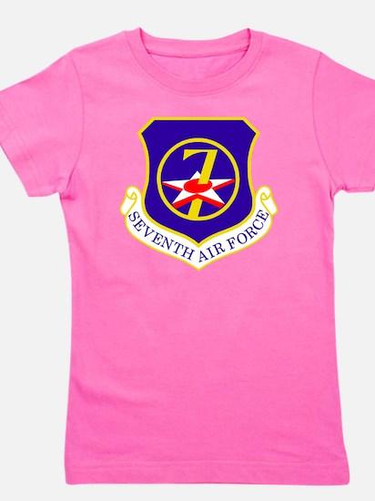 USAF-7th-AF-Shield Girl's Tee